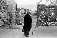 Barcelona, 2001: anziana<br /> &copy; Andrea Sabbadini
