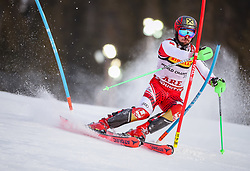 17.02.2019, Aare, SWE, FIS Weltmeisterschaften Ski Alpin, Slalom, Herren, 1. Lauf, im Bild Marcel Hirscher (AUT) // Marcel Hirscher of Austria in action during his 1st run of men's Slalom of FIS Ski World Championships 2019. Aare, Sweden on 2019/02/17. EXPA Pictures © 2019, PhotoCredit: EXPA/ Johann Groder