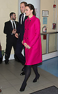 Kate & Prince William Visit The Door, New York
