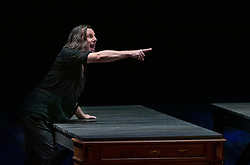 11.04.2019, Große Universitätsaula, Salzburg, AUT, Salzburger Osterfestspiele, Fotoprobe, Kammeroper Therese (Oper von Emile Zola), im Bild Otto Katzameier als Laurent // during the rehearsal of the Chamber opera Therese (opera by Emile Zola). The Salzburg Easter Festival takes place from 13 April to 23 April  2019, at the Große Universitätsaula in Salzburg, Austria on 2019/04/11. EXPA Pictures © 2019, PhotoCredit: EXPA/ Ernst Wukits
