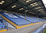 Empty stands ready to be filled by the shakers faithfull before the Sky Bet League 1 match between Bury and Port Vale at Gigg Lane, Bury, England on 19 September 2015. Photo by Mark Pollitt.