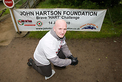 John before the start..The John Hartson Foudation walk up Ben Nevis..Pic ©2010 Michael Schofield. All Rights Reserved.