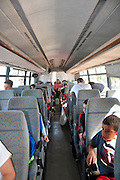 Israel, Interior of a public bus