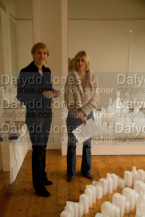 Isabella Macpherson; Sigrid Wilkinson, Private view: Atlantis by Gayle Chong Kwan, Hosted by Pia Getty, . 29 Thurloe Place, SW7. London. 11 Nov emebr 2008<br /> *** Local Caption *** -DO NOT ARCHIVE-© Copyright Photograph by Dafydd Jones. 248 Clapham Rd. London SW9 0PZ. Tel 0207 820 0771. www.dafjones.com.