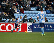 Coventry City Midfielder Joe Cole during the Sky Bet League 1 match between Coventry City and Bury at the Ricoh Arena, Coventry, England on 13 February 2016. Photo by Chris Wynne.