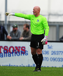 PAUL BASTOCK GOALKEEPER CORBY TOWN, Corby Town v Romulus Steel Park, Corby Evo-Stik Northern Premier Division One South Saturday 12th August 2017