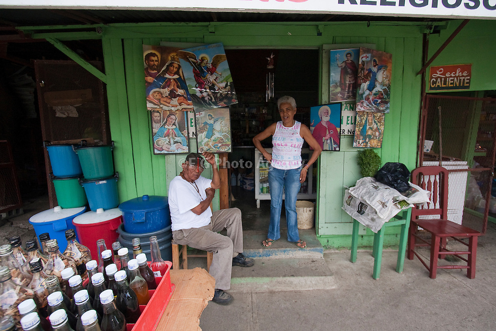 Botanic and religious shop on Mao Valverde, Dominican Republic