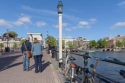 Lantaarn Magere Brug, Amsterdam, Noord Holland, Netherlands