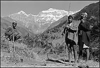 Nepal. Region du Rukum. // Nepal. Rukum area.
