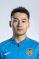 **EXCLUSIVE**Portrait of Chinese soccer player Yang Xiaotian of Jiangsu Suning F.C. for the 2018 Chinese Football Association Super League, in Nanjing city, east China's Jiangsu province, 23 February 2018.