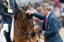 Retirement, Beever Mark, GBR,  Big Star<br /> Royal Windsor Horse Show - Home Park, Windsor 2017<br /> © Hippo Foto - Jon Stroud<br /> 14/05/17