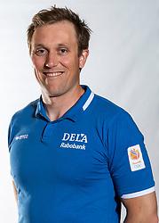 02-07-2018 NED: EC Beach teams Netherlands, The Hague<br /> David Jones