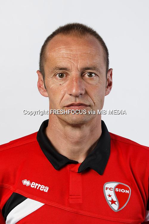 15.07.2014; Martigny; Fussball Super League - Portrait FC Sion; Sportchef  Frederic Chassot (Sion)(Christian Pfander/freshfocus)