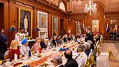 Staatsbezoek  Koning en Koningin aan India - Staatsbanket