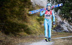 19.12.2014, Nordische Arena, Ramsau, AUT, FIS Nordische Kombination Weltcup, Skisprung, Training, im Bild Willi Denifl (AUT) // during Ski Jumping of FIS Nordic Combined World Cup, at the Nordic Arena in Ramsau, Austria on 2014/12/19. EXPA Pictures © 2014, EXPA/ JFK