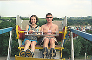 Couple on a Ride, Glastonbury, 1994.