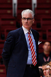 Nov 14, 2011; Stanford CA, USA;  Southern Methodist Mustangs head coach Matt Doherty on the sidelines against the Colorado State Rams during the first half of a preseason NIT game at Maples Pavilion.  Mandatory Credit: Jason O. Watson-US PRESSWIRE