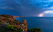 Port Campbell National Park Lightning<br /> <br /> <br /> Pic Steve Ryan