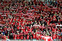 Fotball ,  28. oktober 2007 , Tippeligaen , Brann - Viking 5-2<br /> illustrasjon , bastion , skjerf , seriemster 2007 , fan , fans , supporter , supportere