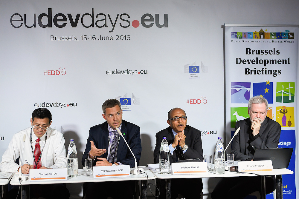 20160616 - Brussels , Belgium - 2016 June 16th - European Development Days - Ending hunger and undernutrition - It can be done faster © European Union