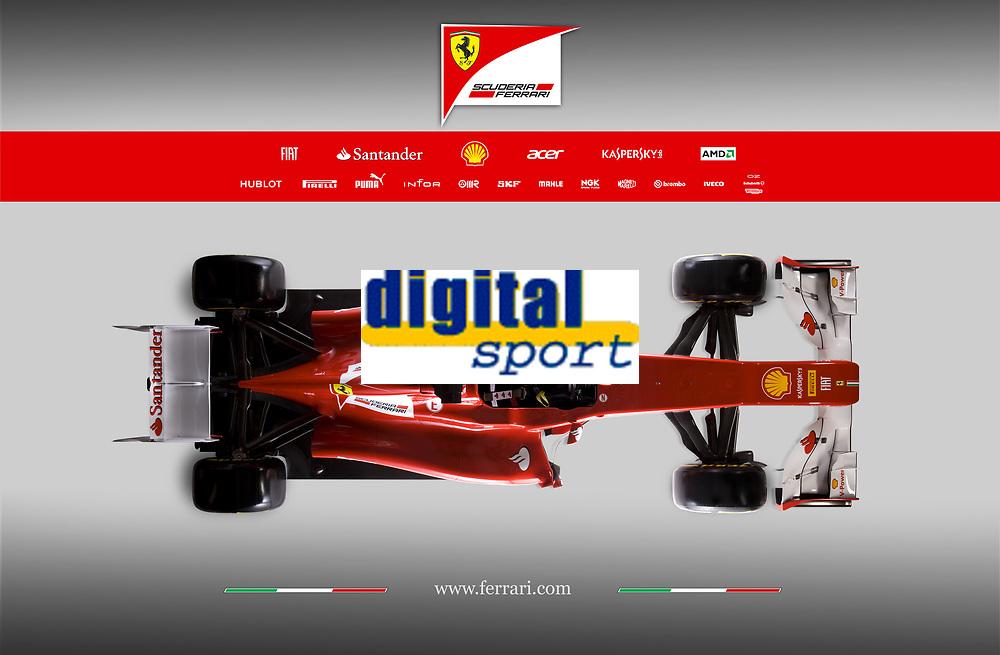 MOTORSPORT - F1 2012 - SCUDERIA FERRARI F2012 LAUNCH - MARANELLO (ITA) - 03/02/2012 - PHOTO : DPPI<br /> FERRARI F2012 2012 - AMBIANCE