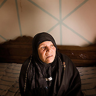 TUNISIA, SIDI BOUZID : Mannoubia, the mother of Mohammed Bouazizi, the 26-year-old graduate forced to sell fruit and vegetables to make a living who set himself on fire last month to protest against the seizure of his stand by police in Sidi Bouzid.Copyright Christian Minelli.