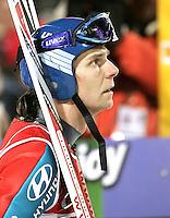 Skispringen Saison 2005/2006 .Vierschanzentournee Bischofshofen 06.01.2006.Janne Ahonen (FIN); Portraet.FOTO :Pressefoto Ulmer/Andreas Schaad.