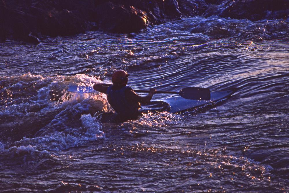 Kayaking, Dauphin Narrows, Susquehanna River