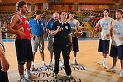 Bormio 20/07/2008<br /> Basket, Allenamento <br /> Nella foto: charlie recalcati<br /> Foto Ciamillo