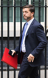 Downing Street, London, September 15th 2015.  Welsh Secretary Stephen Crabb arrives at 10 Downing Street to attend the weekly cabinet meeting