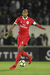 November 5, 2017 - Guimaraes, Guimaraes, Spain - Benfica's Brazilian defender Luisao during the Premier League 2017/18 match between Vitoria SC and SL Benfica, at Dao Afonso Henriques Stadium in Guimaraes on November 5, 2017. (Credit Image: © Dpi/NurPhoto via ZUMA Press)