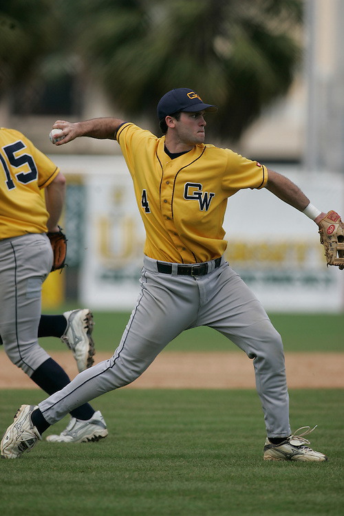 2005 George Washington University Baseball