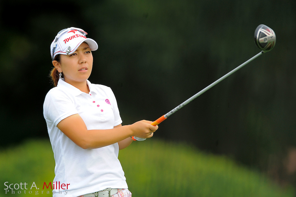Mika Miyazato during the first round of the CME Group Titleholders at Grand Cypress Resort on Nov. 17, 2011 in Orlando, Fla.  ..©2011 Scott A. Miller