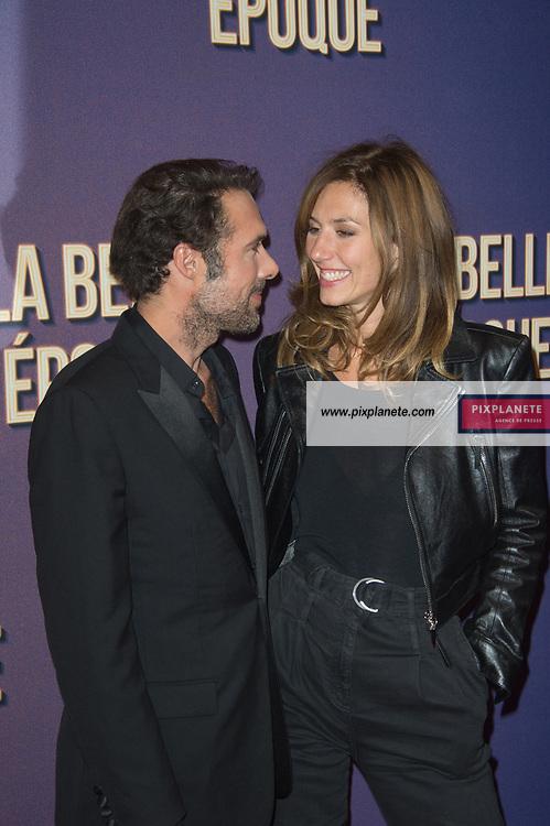 Nicolas Bedos  - Dora Tillier Avant première du film La Belle Epoque Jeudi 17 Octobre 2019 Gaumont Opéra Paris