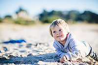 family portraits at kuaotunu beach and jai anuhea and family at sunset in winter by felicity jean photography coromandel photographer