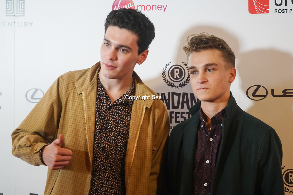 London, UK, 20th September 2017. Jack Rowan C4's Born To Kill attend Raindance 25th Film Festival Opening Gala at VUE Leicester Square.