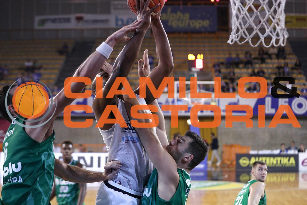Landry Marcus, Germani Basket Brescia vs Stelmet Zielona Gora, 2 edizione Trofeo Roberto Ferrari, PalaGeorge di Montichiari 22 settembre 2017