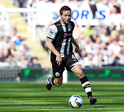 NEWCASTLE-UPON-TYNE, ENGLAND - Sunday, April 1, 2012: Newcastle United's Yohan Cabaye during the Premiership match against Liverpool at St James' Park. (Pic by Vegard Grott/Propaganda)