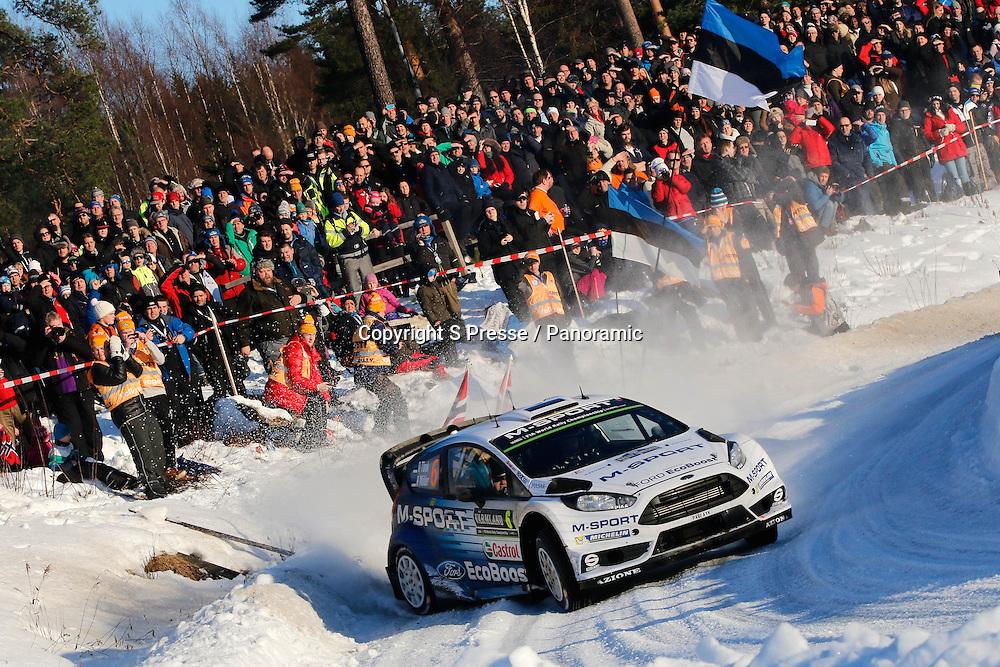 Ott Tanak (EST) - R.Molder (EST) - Ford Fiesta WRC