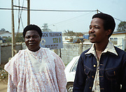 King Sunny Ade in Lagos