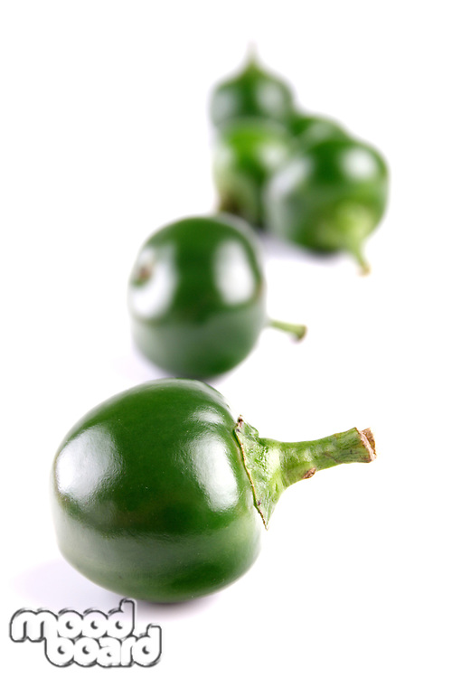 Close-up of green chilli pepper