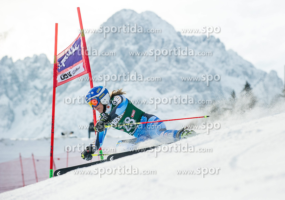 28.12.2013, Hochstein, Lienz, AUT, FIS Weltcup Ski Alpin, Lienz, Riesentorlauf, Damen, 1. Durchgang, im Bild Kajsa Kling (SWE) // during the 1st run of ladies giant slalom Lienz FIS Ski Alpine World Cup at Hochstein in Lienz, Austria on 2013-12-28, EXPA Pictures © 2013 PhotoCredit: EXPA/ Michael Gruber