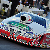Mike Edwards at Full throttle drag racing series, National Hot Rod Association 2011