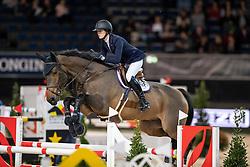 Longem Marie, NOR, Benito<br /> Stuttgart - German Masters 2018<br /> © Hippo Foto - Stefan Lafrentz