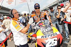 29.08.2010, Indianapolis, USA, MotoGP, Redbull Indianapolis Grand Prix, im Bild .Dani Pedrosa - Repsol Honda team .EXPA Pictures © 2010, PhotoCredit: EXPA/ InsideFoto/ Semedia +++++ ATTENTION - FOR AUSTRIA AND SLOVENIA CLIENT ONLY +++++