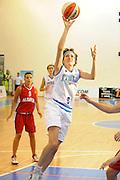 DESCRIZIONE : Ortona Giochi del Mediterraneo 2009 Mediterranean Games Italia Italy Albania Preliminary Women<br /> GIOCATORE : Simona Ballardini<br /> SQUADRA : Nazionale Italiana Femminile<br /> EVENTO : Ortona Giochi del Mediterraneo 2009<br /> GARA : Italia Italy Albania<br /> DATA : 28/06/2009<br /> CATEGORIA : tiro<br /> SPORT : Pallacanestro<br /> AUTORE : Agenzia Ciamillo-Castoria/G.Ciamillo
