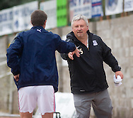 Barry Smith and Paul Sturrock at end - Dundee v Southend United - East Fife Tournament at New Bayview<br /> <br /> &copy; David Young<br /> <br /> <br /> http://www.davidyoungphoto.co.uk