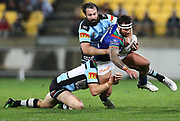 Warriors Jazz Tevaga in his 50th NRL match during the NRL rugby league match between the Warriors and Sharks at Westpac Stadium in Wellington on Friday the 19th of July 2019. Copyright Photo: Grant Down / www.Photosport.nz