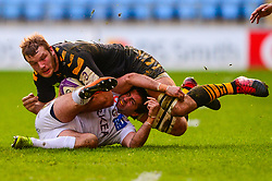 Joe Launchbury of Wasps - Mandatory by-line: Dougie Allward/JMP - 18/01/2020 - RUGBY - Ricoh Arena - Coventry, England - Wasps v Bordeaux-Begles - European Rugby Challenge Cup