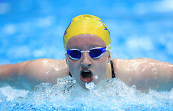 Charlotte Robinson competes in the Women's 200m Open 200m Butterfly heats during day three of the 2017 British Swimming Championships at Ponds Forge, Sheffield.